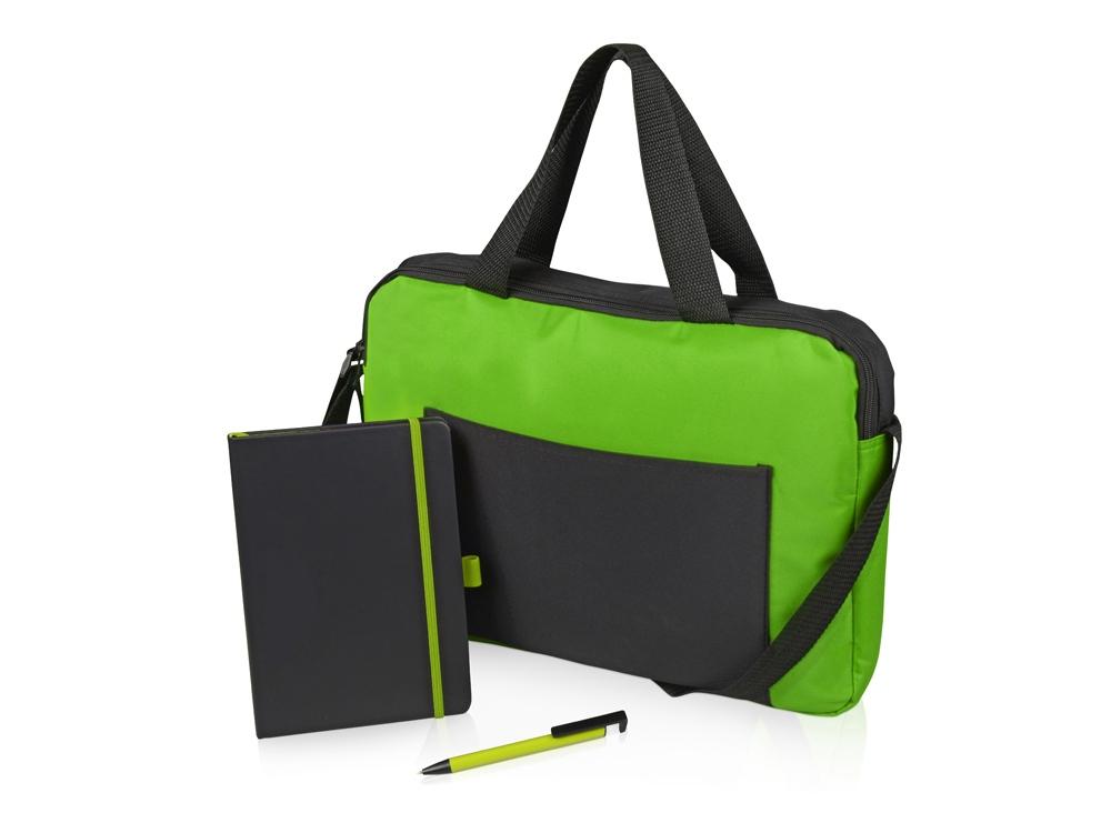 Подарочный набор «Conference», зеленый