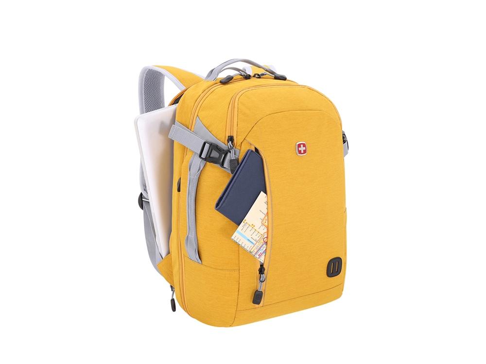 Рюкзак WENGER 29 л с отделением для ноутбука 15, желтый