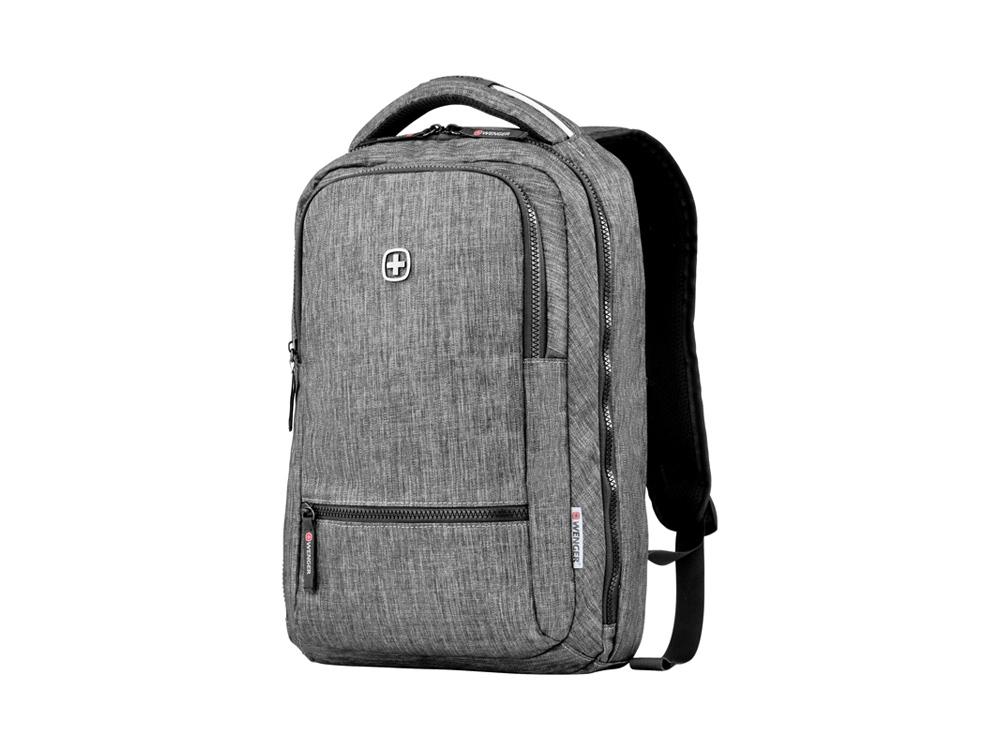 Рюкзак WENGER 14 л с отделением для ноутбука 14, темно-серый