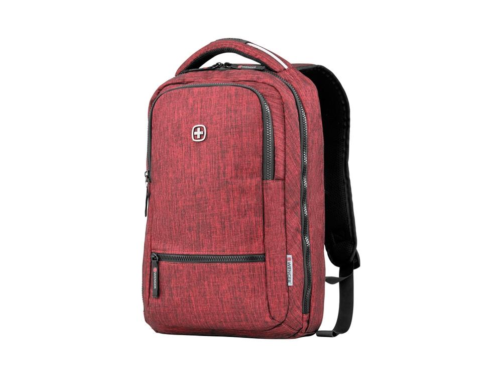 Рюкзак WENGER 14 л с отделением для ноутбука 14, бордовый
