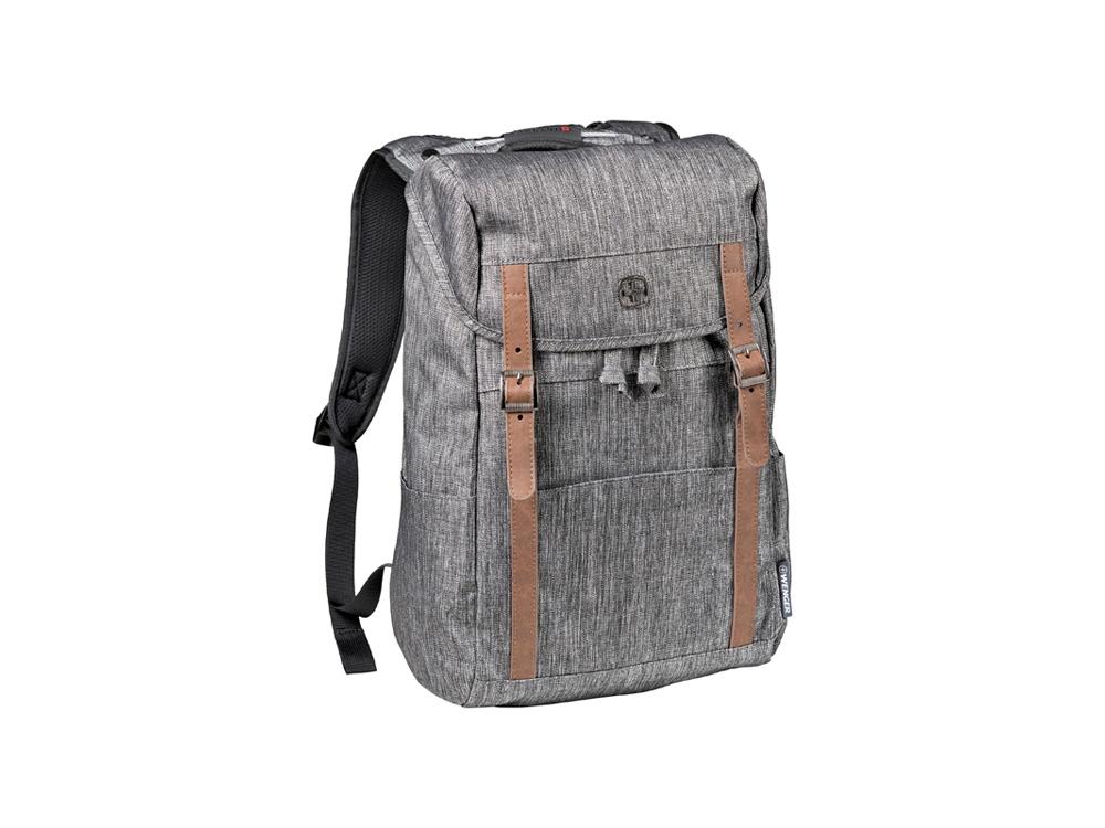 Рюкзак WENGER 16 л с отделением для ноутбука 16, темно-серый