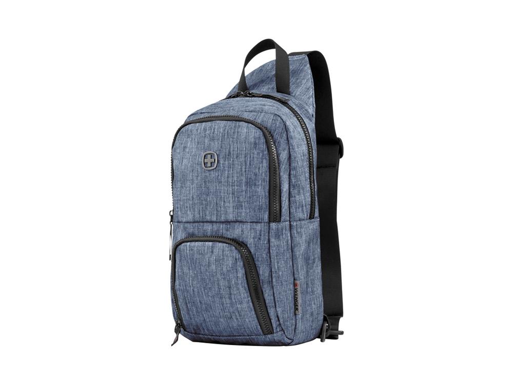 Рюкзак WENGER с одним плечевым ремнем 8 л, синий
