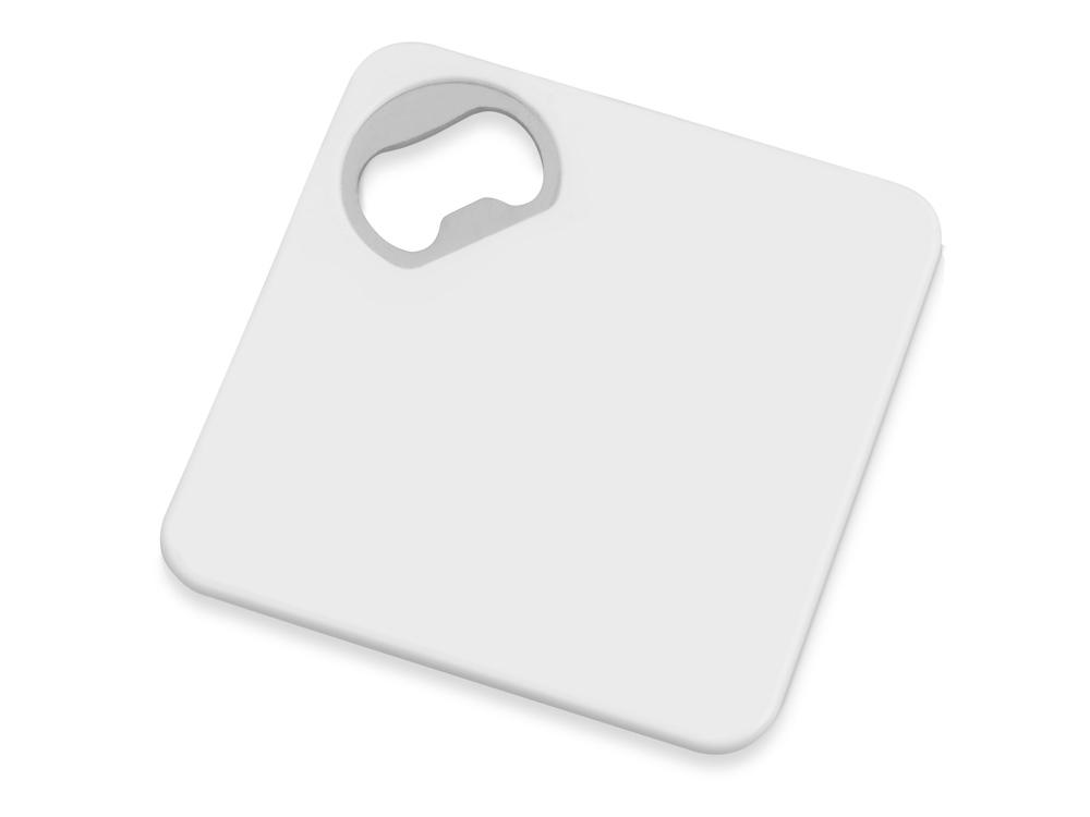 Подставка для кружки с открывалкой «Liso», черный/белый