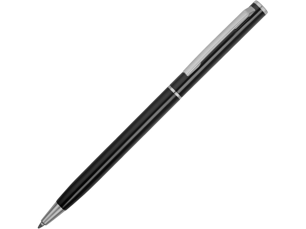 Ручка металлическая шариковая Атриум, черный