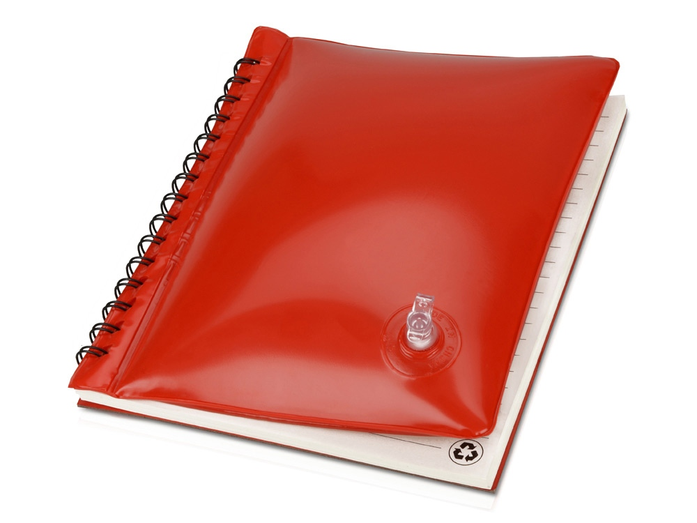 Блокнот А5 Малокен, красный