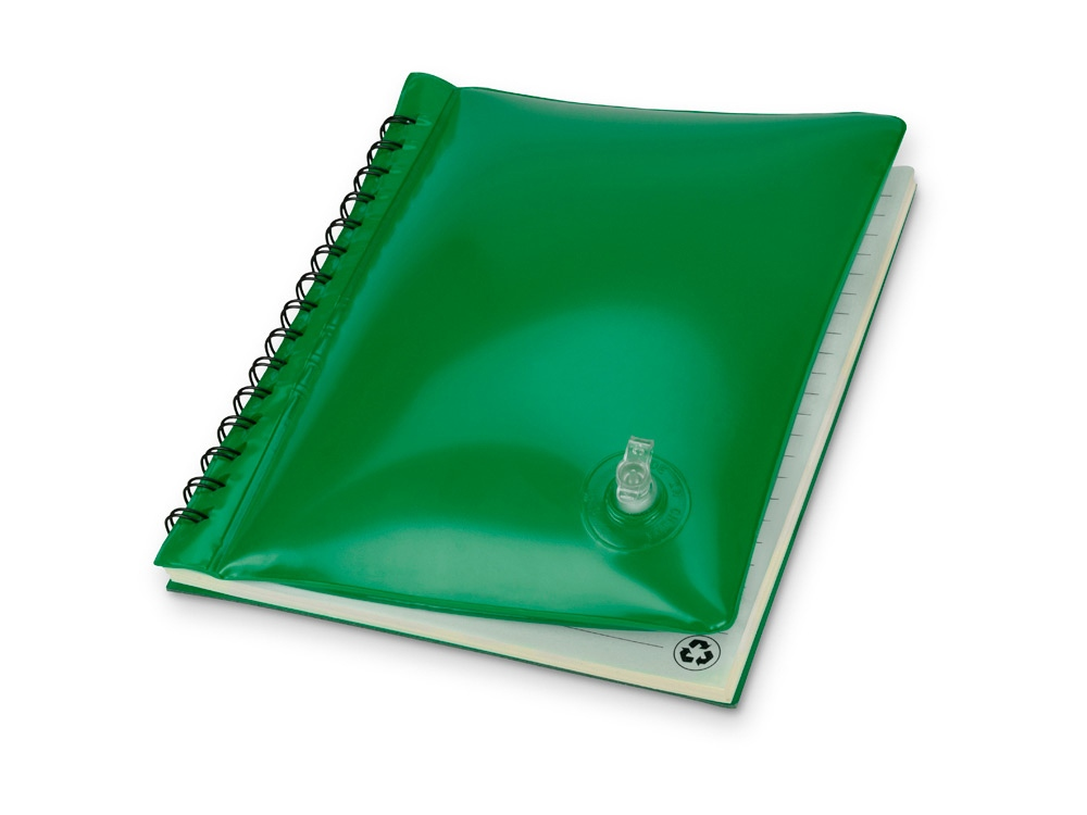 Блокнот А5 Малокен, зеленый