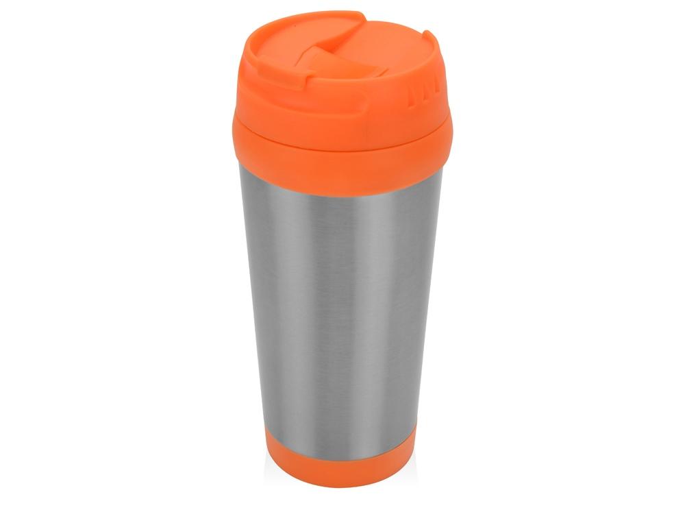 Термокружка Певенси 450мл, оранжевый