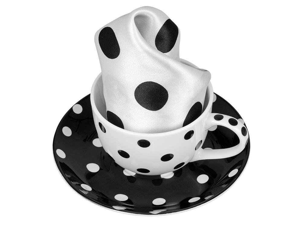 Набор: чашка и платок «Утро дамы»