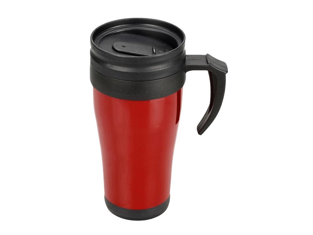 Кружка с термоизоляцией Silence 350мл, красный