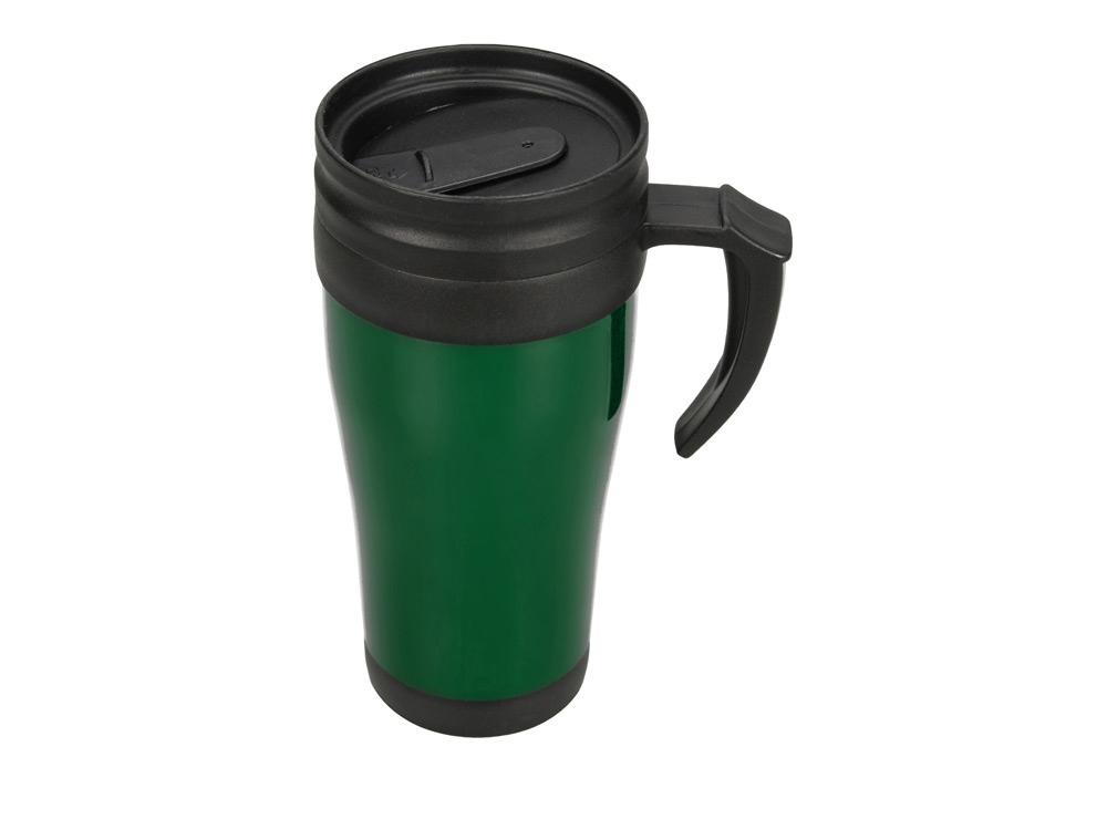 Кружка с термоизоляцией Silence 350мл, зеленый