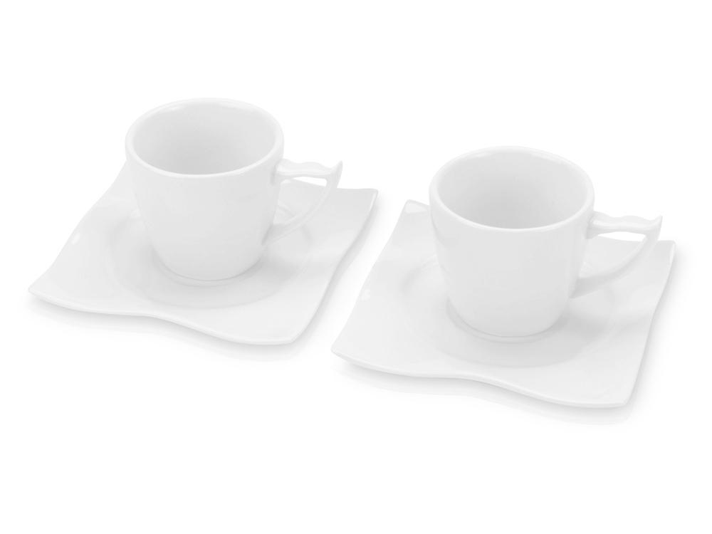 Набор: 2 чашки на 100 мл с блюдцами