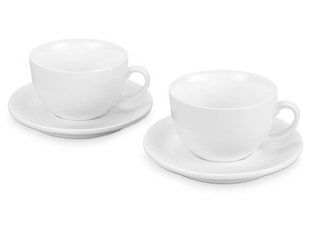 Набор: 2 чашки на 300 мл с блюдцами