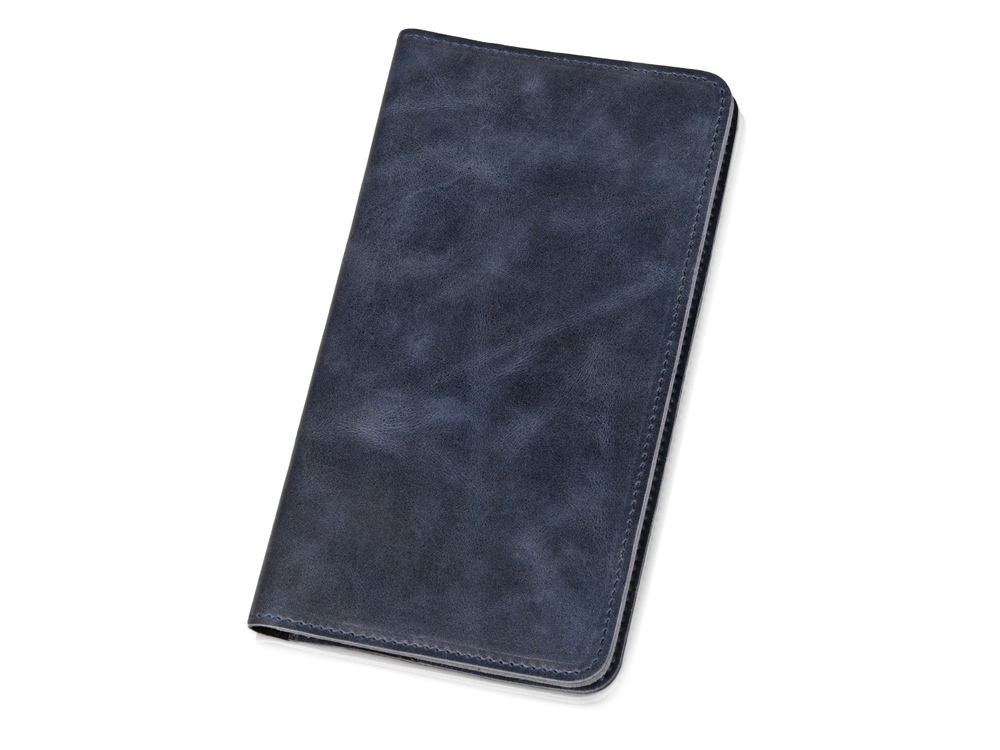 Трэвел-портмоне Druid с отделением на молнии, темно-синий