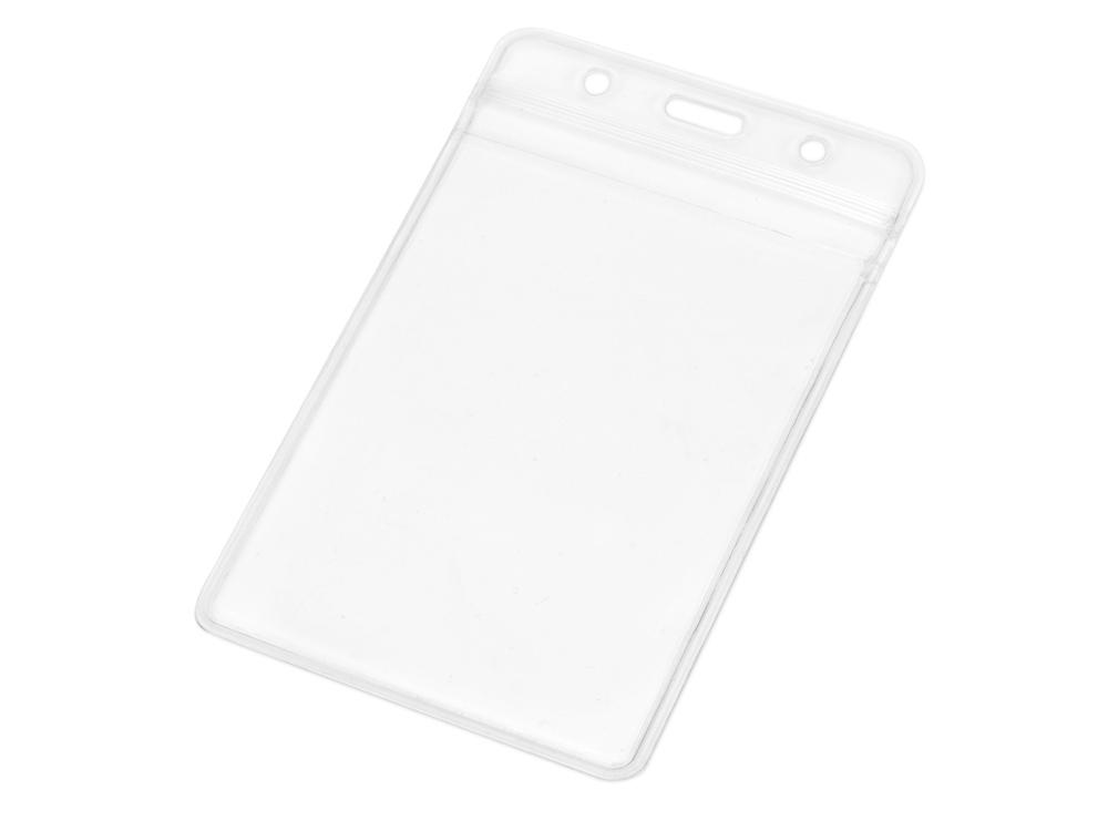 Бейдж Crystal Vert 84*135 мм (внут.размер 72*102 мм), прозрачный