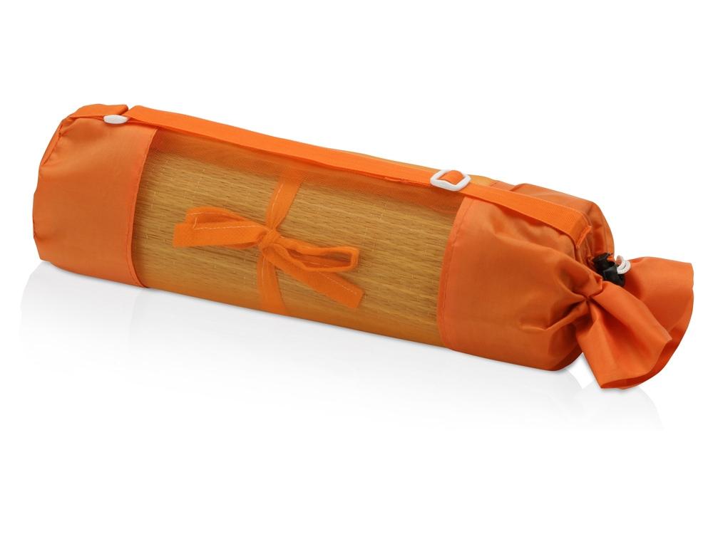 Циновка пляжная «Атолл», оранжевый