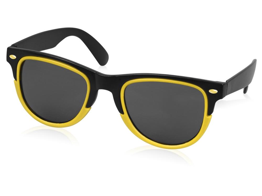 Очки солнцезащитные Rockport, черный/желтый