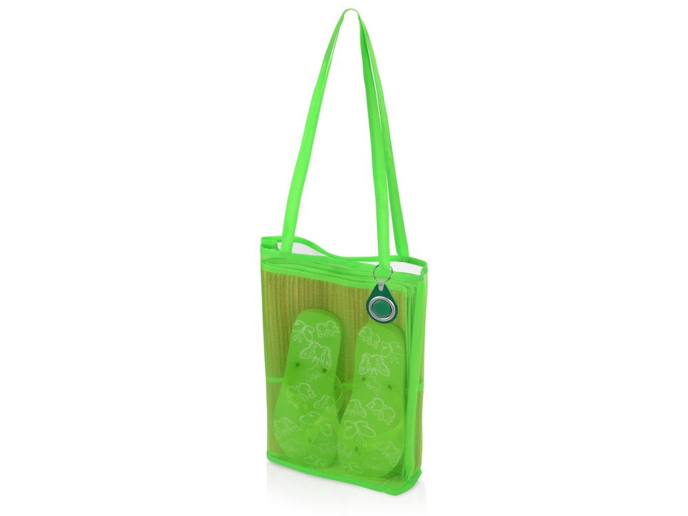Пляжный набор Тропики с брелоком Сигнал, зеленый