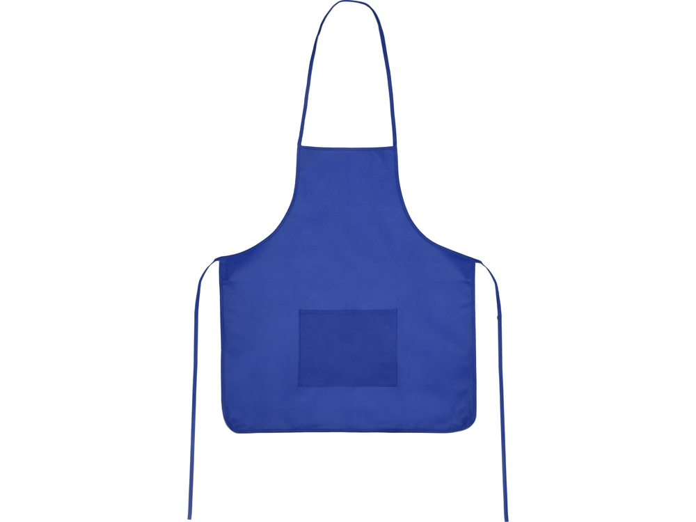 Фартук, синий, плотность 80г/м2