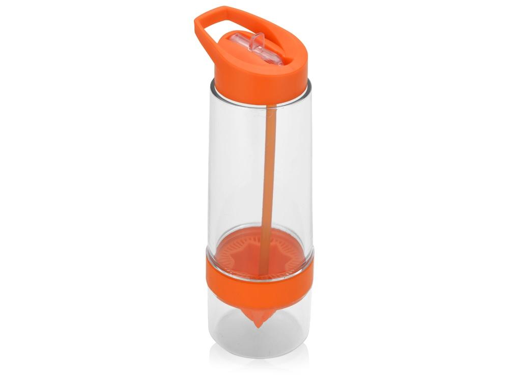 Бутылка для воды Фреш, оранжевый