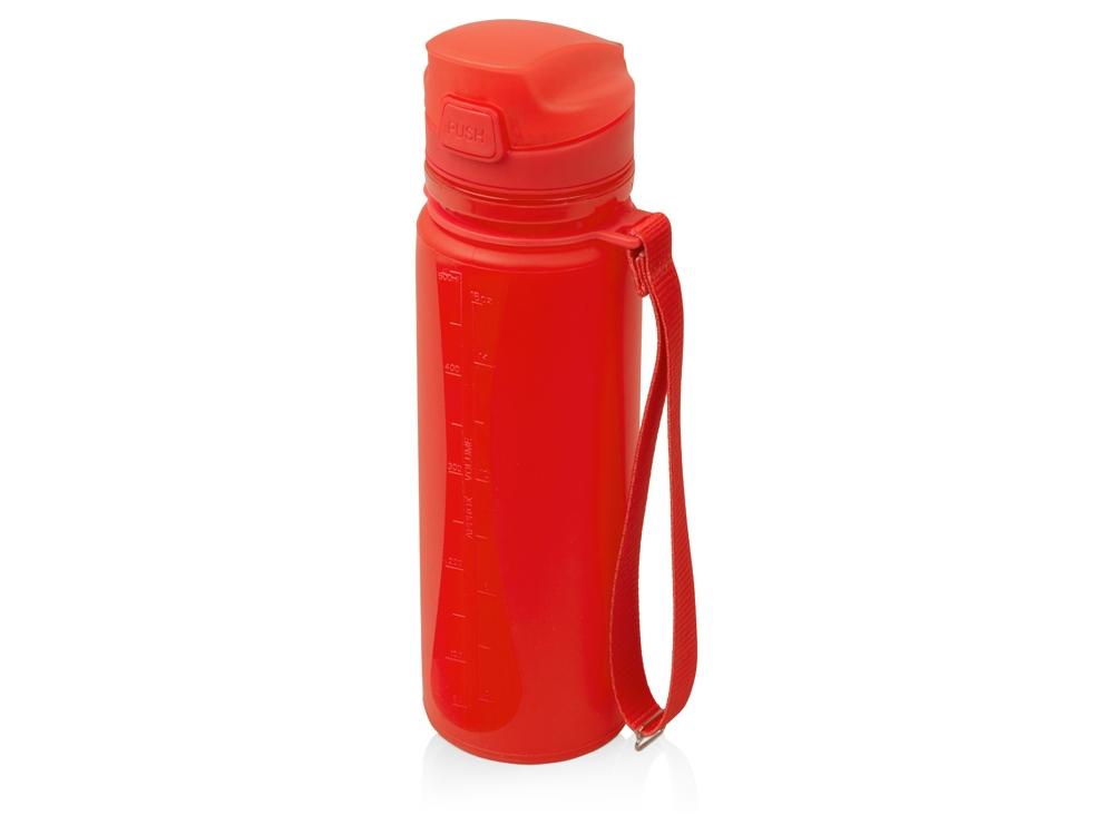 Складная бутылка Твист 500мл, красный