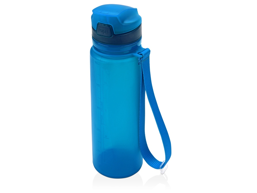 Складная бутылка Твист 500мл, синий