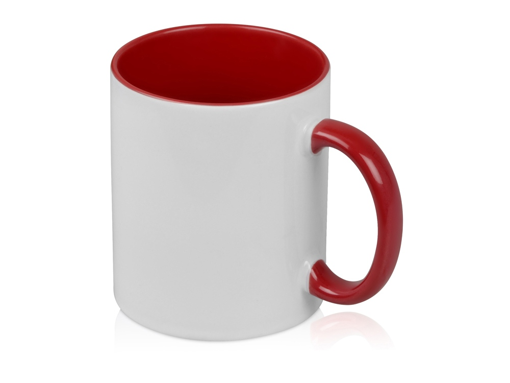 Кружка для сублимации Sublime Color, белый/красный