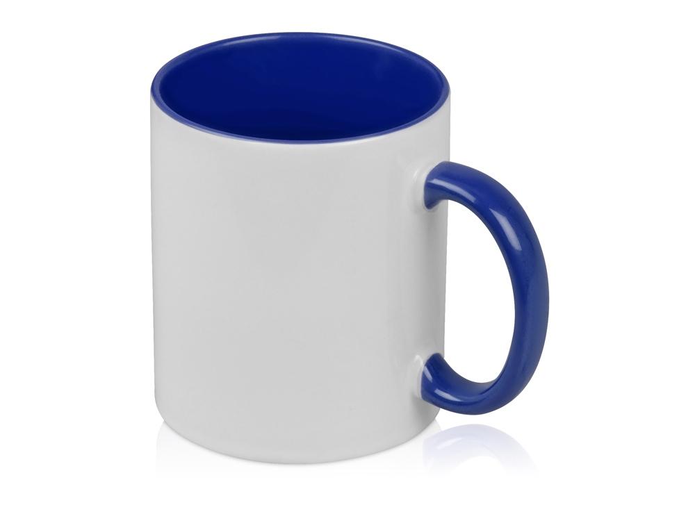 Кружка для сублимации Sublime Color, белый/синий