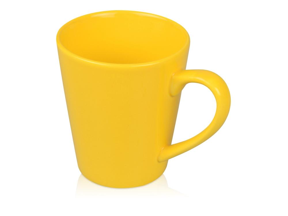 Кружка Конус 330 мл, желтый