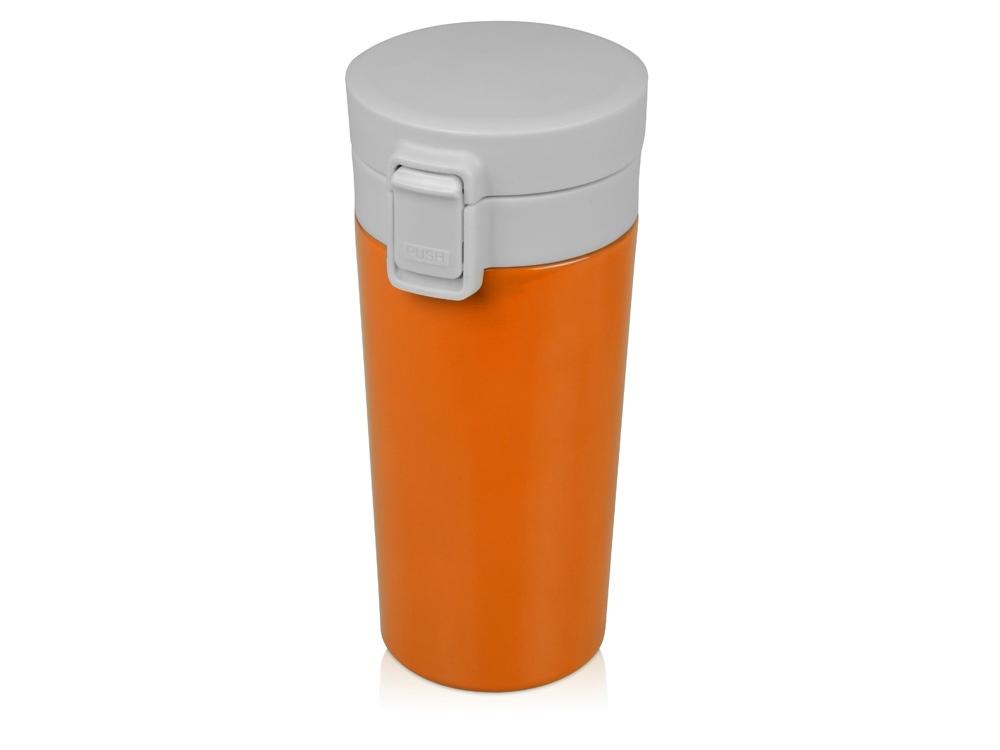 Герметичная термокружка Trigger 380мл, оранжевый