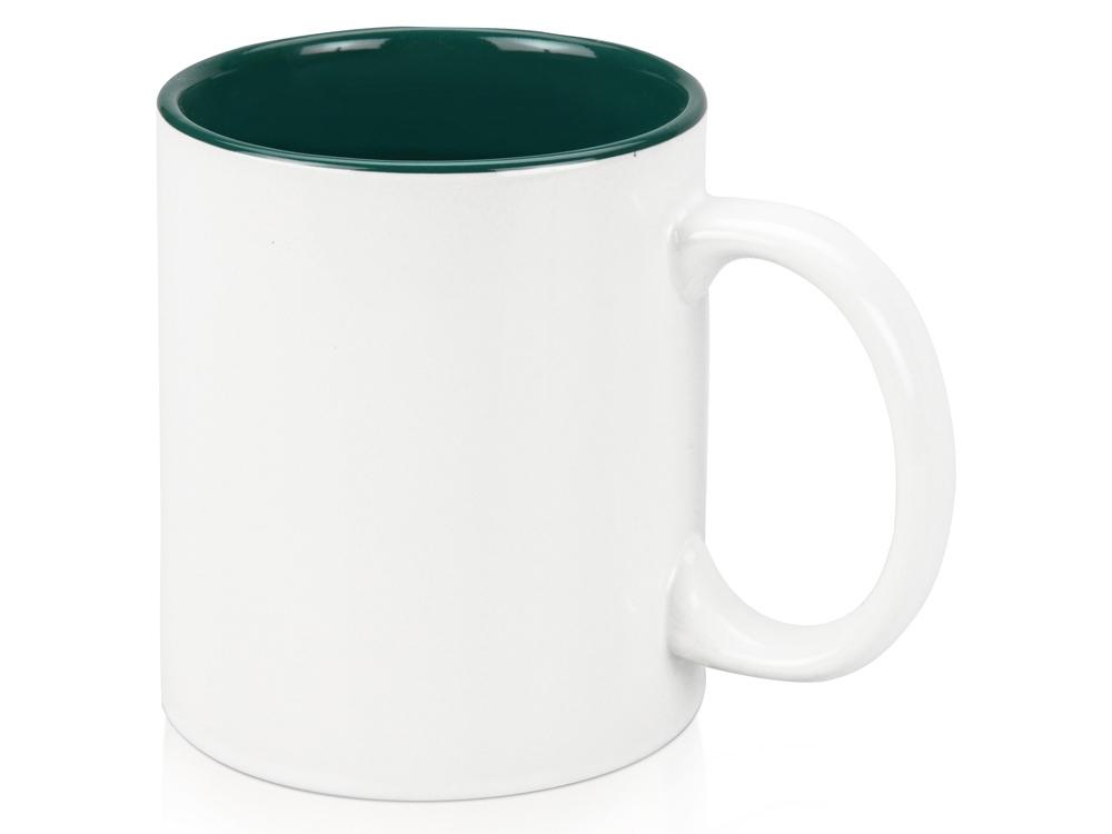 Кружка на 320 мл, шт.,  зеленый/белый