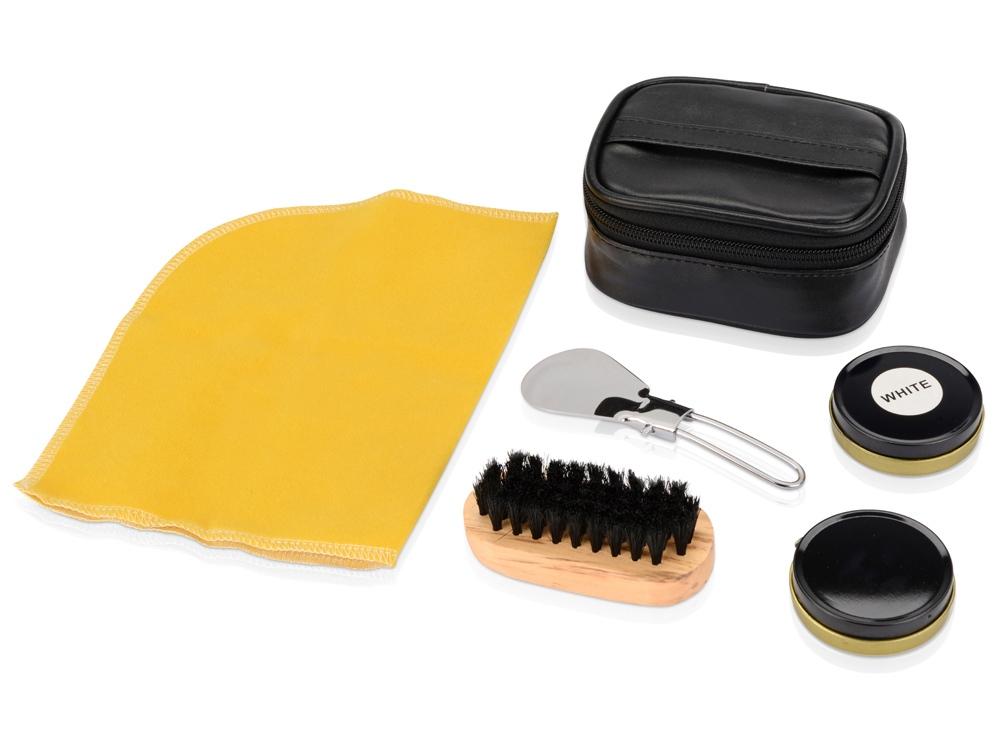 Набор для чистки обуви «Шик», черный
