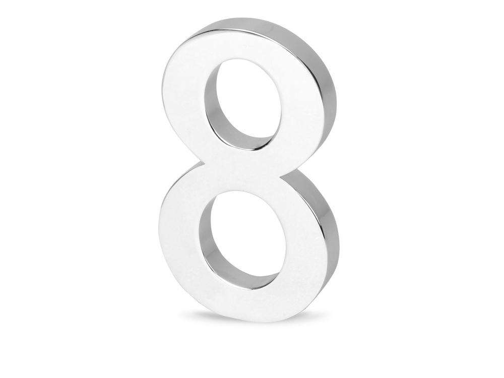 Цифра «Восемь» для часов 628089 и 628099, серебристый