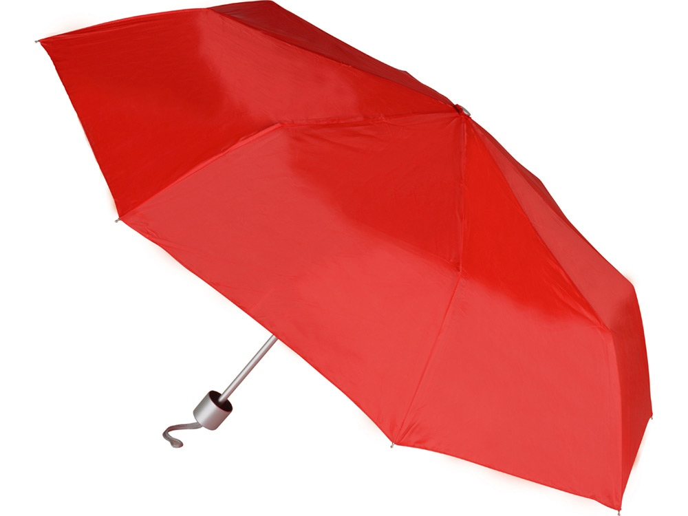 Зонт складной механический Сан-Леоне, красный