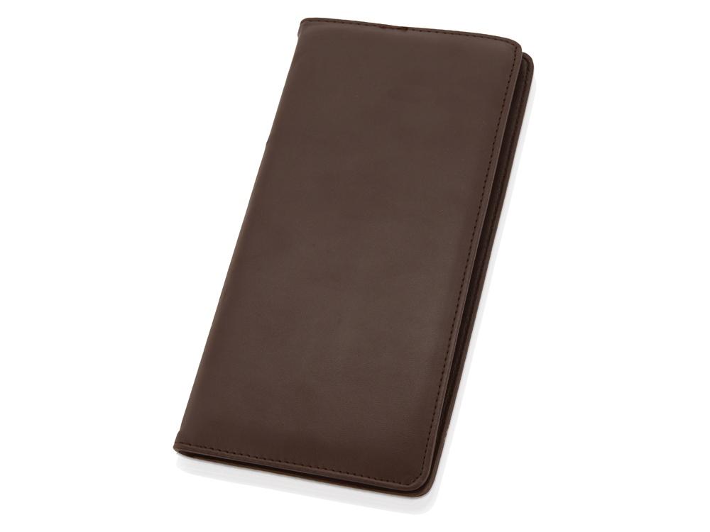 Визитница «Мерилин» на 160 визиток, коричневый