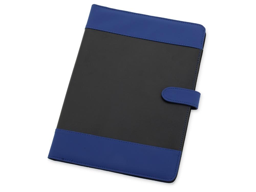 Папка для документов «Барлетто», синий/черный