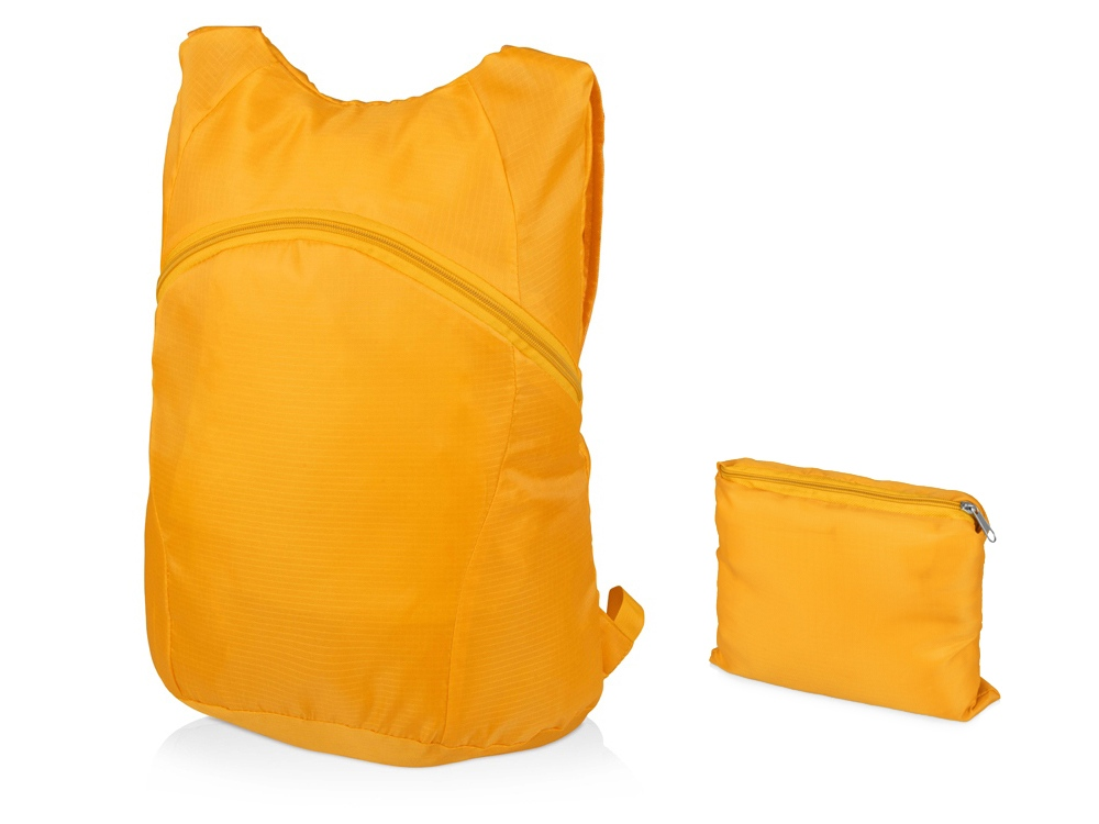 Рюкзак складной Compact, желтый
