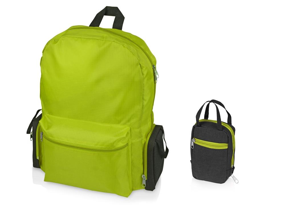 Рюкзак Fold-it складной, складной, зеленое яблоко