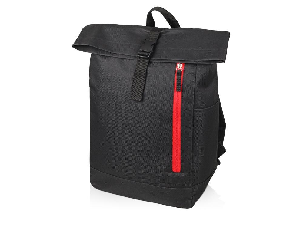 Рюкзак-мешок Hisack, черный/красный