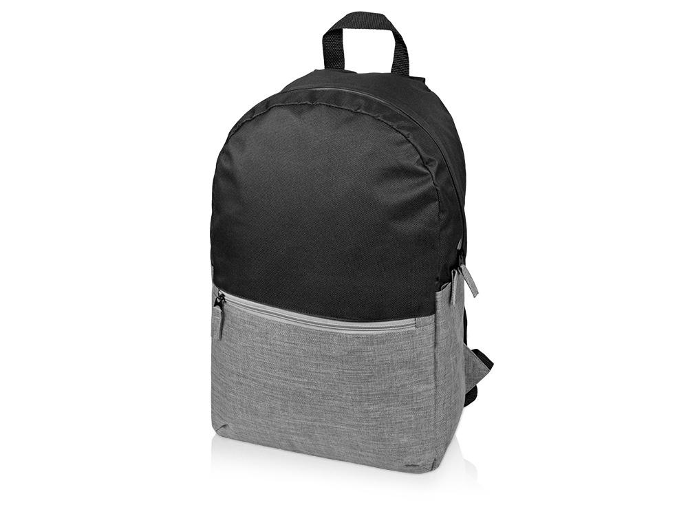 Рюкзак «Suburban», черный/серый