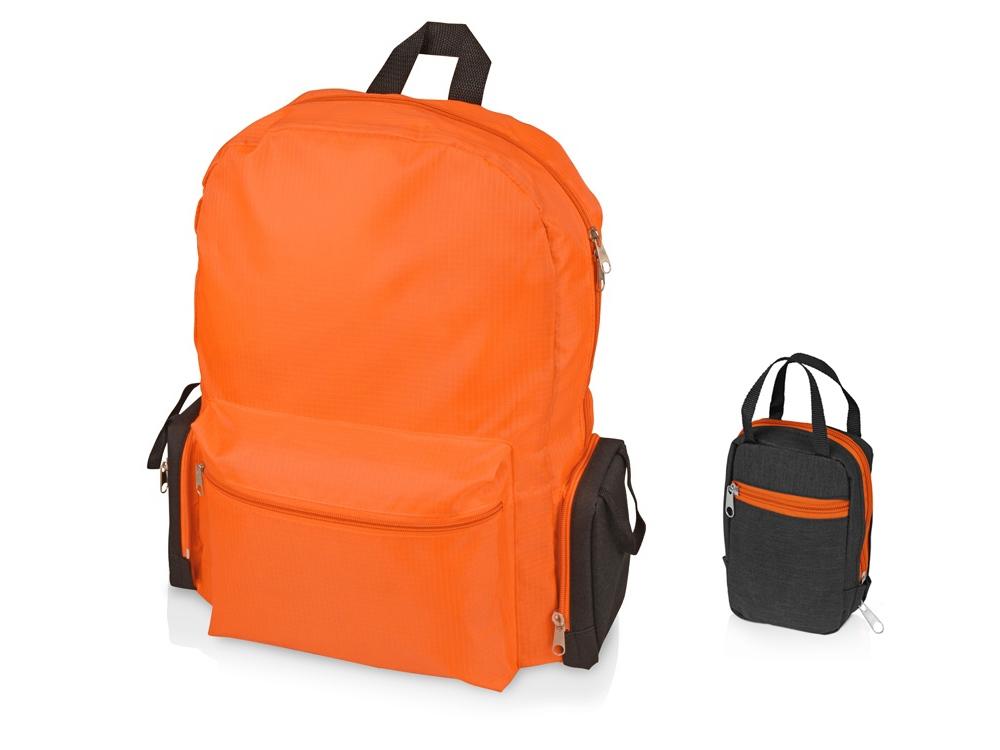 Рюкзак Fold-it складной, оранжевый