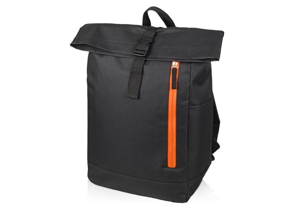 Рюкзак-мешок Hisack, черный/оранжевый