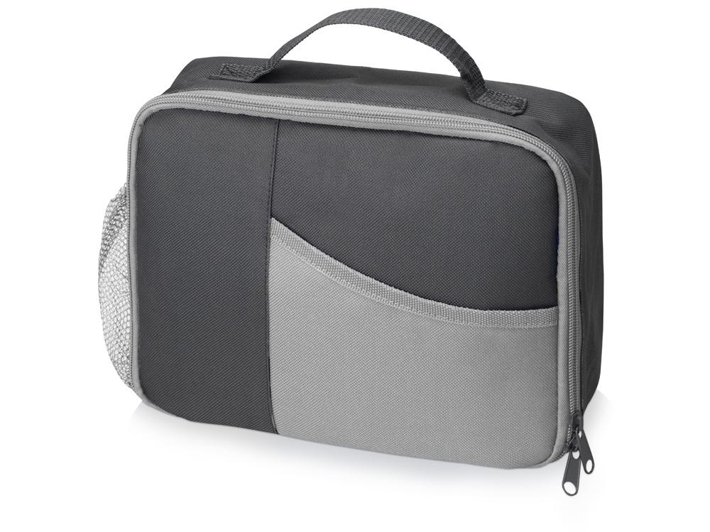 Изотермическая сумка-холодильник Breeze для ланч бокса, серый/серый