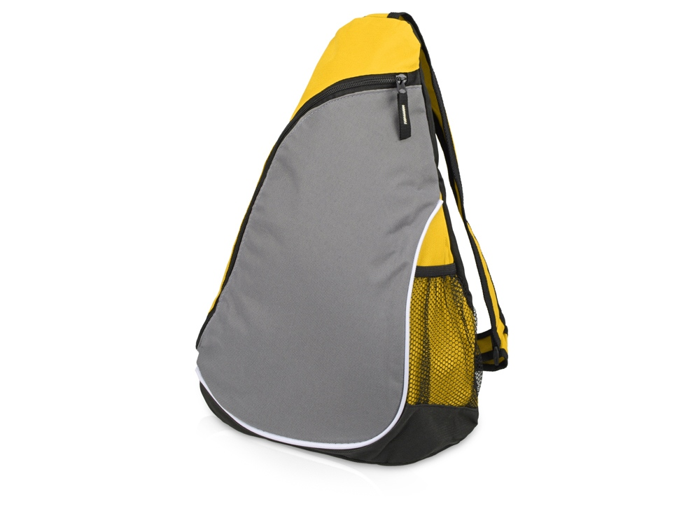 Рюкзак Спортивный, желтый/серый