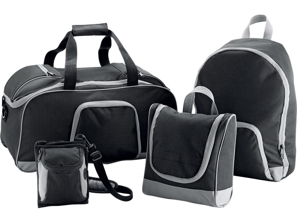 Набор сумок «Странник» 4-в-1, черный серый