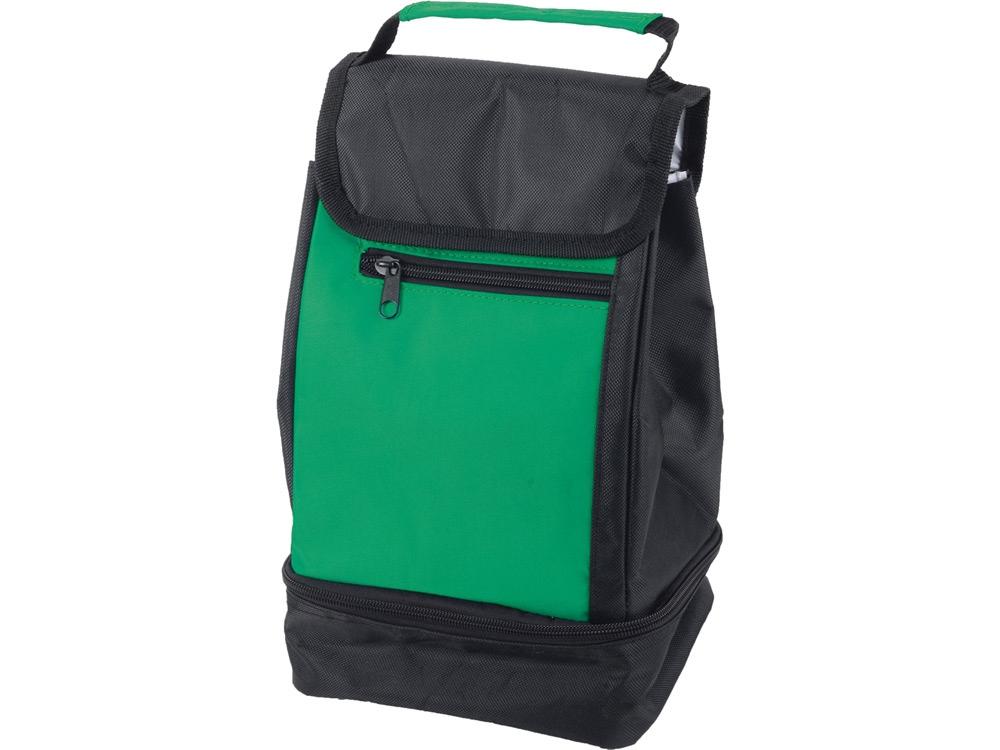 Сумка-холодильник Фриг, зеленый/черный
