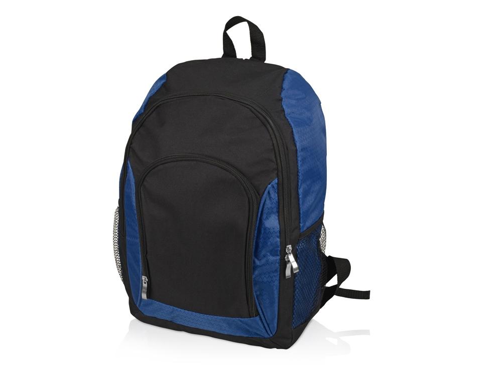 Рюкзак Орегон, черный/синий