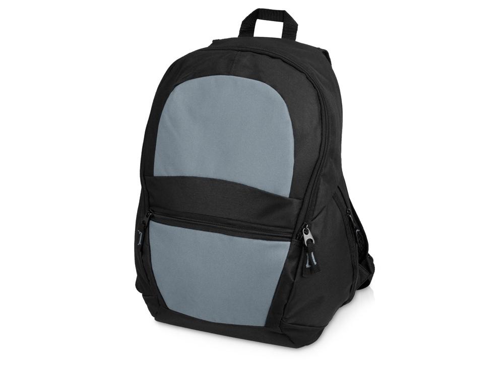 Рюкзак «Автостоп», серый/черный