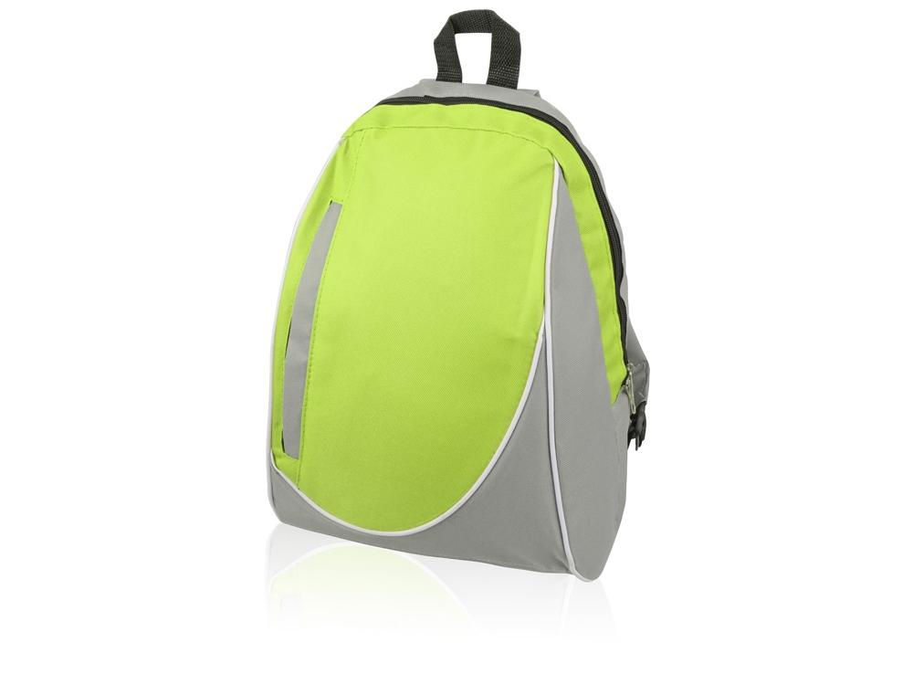Рюкзак «Джек», серый/лайм