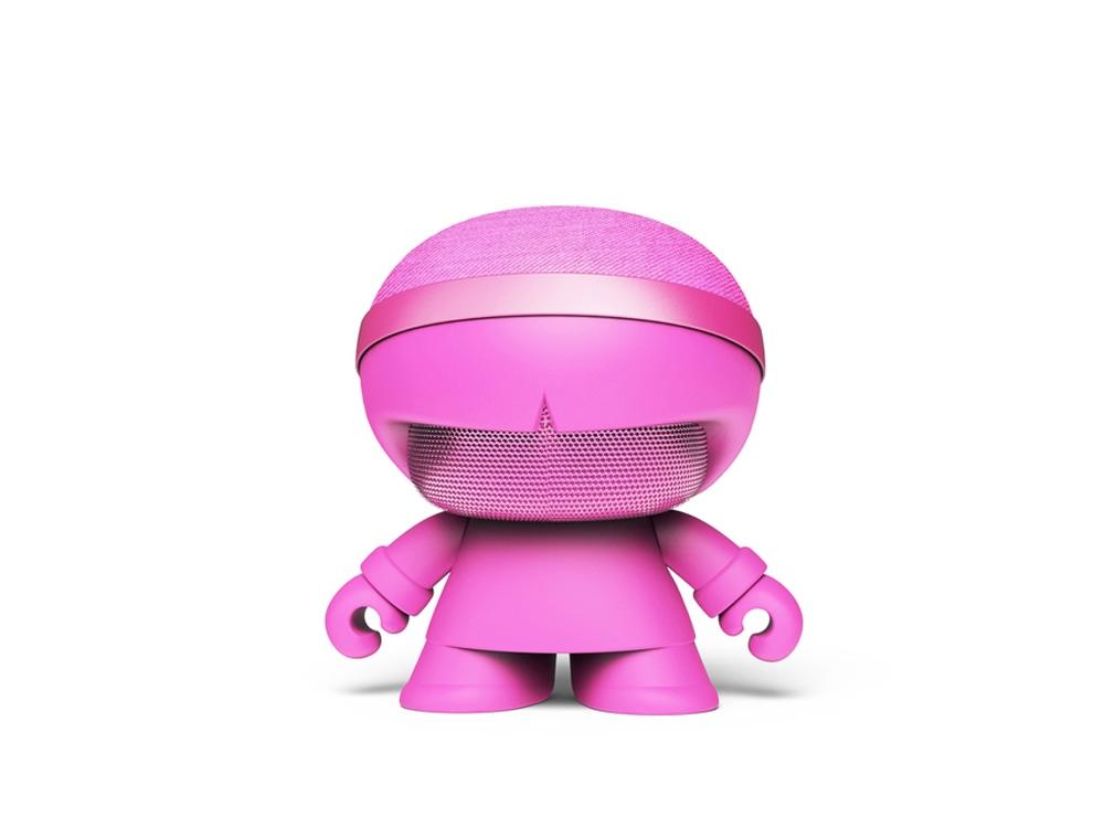 Портативная колонка X5 XOOPAR BOY STEREO, розовый