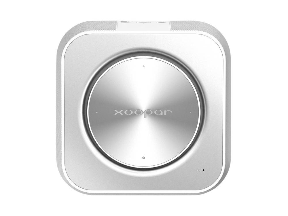 Портативная колонка XOOPAR PUNCHBOX 2, серебристый